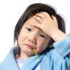 Lázas gyermekek ellátása