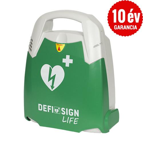 DefiSign LIFE félautomata defibrillátor