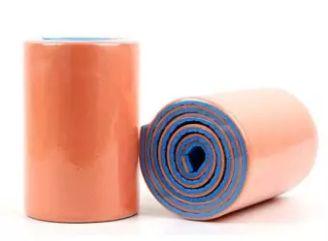 Flexibilis végtagrögzítő 11 x 45 cm, narancs/kék